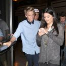 Cody Simpson enjoyed a night out at the movies last night, April 3, at the Grove in Los Angeles. He was joined by rumored girlfriend, Kylie Jenner