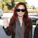 Demi Lovato Sets Off for Chile's Iquique Festival