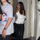 Madison Beer – Exits Kaia Gerbers birthday dinner in West Hollywood