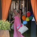 Tori Spelling – Clebrates Her 45th Birthday At Garland Hotel In Los Angeles - 454 x 534