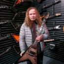 Musician Dave Mustaine attends the NAMM Show 2017 at Anaheim Convention Center on January 22, 2017 in Anaheim, California. - 454 x 303