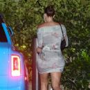 Anastasia Karanikolaou and Kylie Jenner – Night out for dinner at Nobu in Malibu