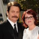 Megan Mullally and Nick Offerman - 454 x 284