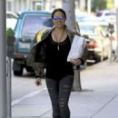 Michelle Rodriguez in Ripped Jeans Out Shopping in Beverly Hills - 454 x 611
