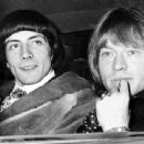 Stash and Brian Jones leaving the court, June the 2nd 1967 - 454 x 340