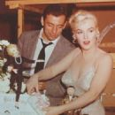 Marilyn Monroe and Yves Montand