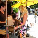 Julie Benz - Hollywood Candids, 12.08.2008.
