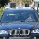 Selena Gomez Cetting Chick-fil-A in Studio City, CA. (August 26)
