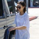 Cara Santana Leaving Zinque at Melrose Ave in West Hollywood - 454 x 681