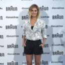 Amaia Salamanca Present Braun New Products
