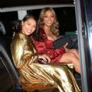 Vanessa White and Munroe Bergdorf – Leaving Pat McGrath Party in London - 454 x 643