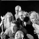 The Black Sheep cast...Basil Rathbone, John Carradine, Lon Chaney Jr. Tor Johnson, Sally Yarnell