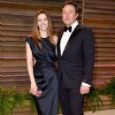 Elon Musk and Talulah Riley - 395 x 594