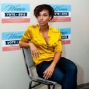 Alicia Keys: at the West Philadelphia Obama Campaign field office in Philadelphia