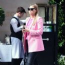Holly Valance – In a pink blazer out in London - 454 x 682