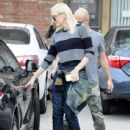 Gwen Stefani seen leaving her acupuncture appointment on December 10, 2014 in Los Angeles, California