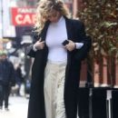 Rita Ora – Arrives at an office in New York