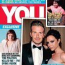 Victoria Beckham, David Beckham - You Magazine Cover [South Africa] (15 November 2012)