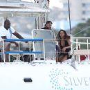 Rihanna Bikini Candids On A Yacht In Barbados