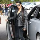 Kim Kardashian spotted out for lunch at Cafe Vega in Sherman Oaks, California on February 8, 2017