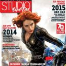 Scarlett Johansson - Studio Cine Live Magazine Cover [France] (January 2015)