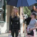 """Yael Grobglas on the Set of """"Supergirl"""" in Canada, July 2017"""