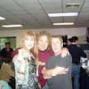 Robert Plant with Roger and Heather Daltrey - 400 x 300