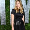 Elizabeth Olsen:  2012 Vanity Fair Oscar Party