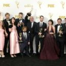 Game of Thrones Cast and Crew - September 20, 2015- 67th Annual Primetime Emmy Awards - Press Room