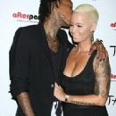 Amber Rose and Wiz Khalifa Host a Party at Tao Nightclub in Las Vegas, Nevada - October 31, 2013