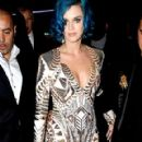 Katy Perry Dines at La Maison du Caviar Restaurant
