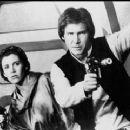 Carrie Fisher and Harrison Ford in Star Wars: Episode VI - Return of the Jedi (1983)