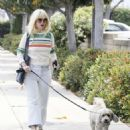 Alice Eve walks her dog in Los Angeles - 454 x 538