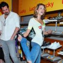 Hilarie Burton - The Lucky Club Gifting Suite