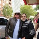 Axl Rose with fans