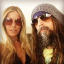 Rob Zombie & Sheri Moon attend the alternative press Music Awards 7/22/2015