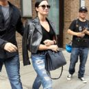 Demi Lovato Leaving The Greenwich Hotel In Tribeca