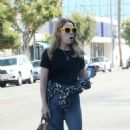 Bethany Joy Lenz – Leaving Joan's on Third in Los Angeles - 454 x 681