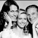 Gene Kelly, Michael Beck and Olivia Newton-John in Xanadu (1980)