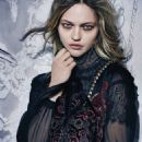 Sasha Pivovarova for Alberta Ferretti Fall/Winter 2015