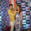 Ranbir Kapoor and Deepika Padukone : Close-up press conference to promote the the upcoming film 'Yeh Jawaani Hai Deewani' - 454 x 558