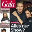 David Beckham and Victoria Beckham - Gala Magazine Cover [Germany] (7 April 2016)