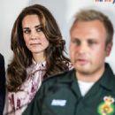Catherine, Duchess of Cambridge and Prince William Duke of Cambridge visit the London Eye