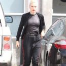 Gwen Stefani seen at the South Music & Sound Design studio in Santa Monica, CA on March 22, 2012