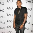 Rapper Nas poses at the 'New Years Eve Kick Off' at Tao Nightclub at the Venetian Hotel and Casino in Las Vegas