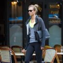 Karlie Kloss At The Gym In New York City