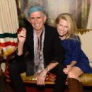 Keith Richards and daughter Theodora hang out backstage at The Tonight Show With Jimmy Fallon