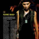 Rooney Mara Fotogramas Spain January 2012
