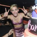 Miley Cyrus attends Miley Cyrus' Official Album Release Party for 'Bangerz' at The General on October 8, 2013 in New York City