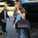 Sofia Vergara departing from LAX in Los Angeles, California on October 18, 2014. n